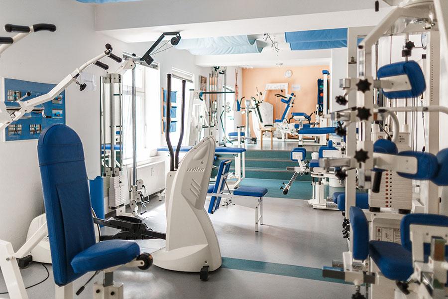 Physio Thinnes in Isny mit Trainingsgeräten